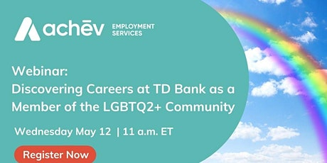 Information Session Event: Discovering Careers at TD Bank as LGBTQ2+ tickets