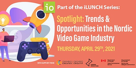 Spotlight: Trends & Opportunities in the Nordic Video Game Industry tickets