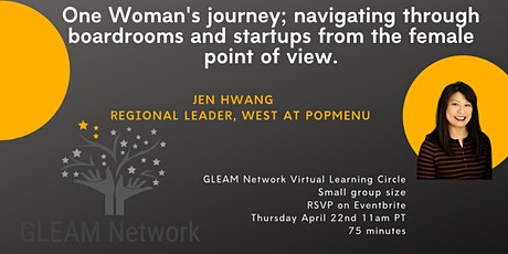"""GLEAM Presents """" One woman's career journey to restaurant technology."""" tickets"""