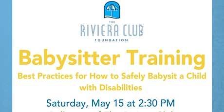 Babysitter Training: Best practices for watching children with disabilities tickets