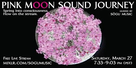 Pink Moon Sound Journey tickets