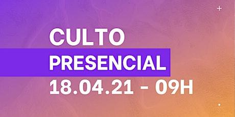 Culto Presencial 18/04/2021 - Igreja Batista Renovada MRP ingressos