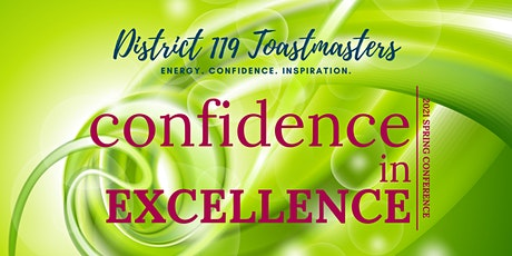 Confidence in Excellence- District 119 Spring Conference 2021 tickets