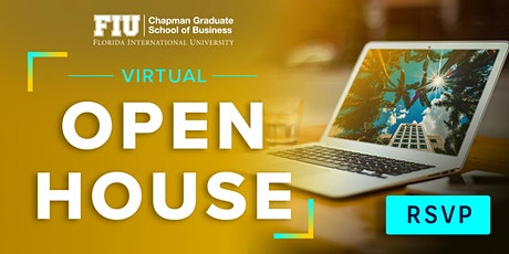 Graduate School Virtual Open House tickets