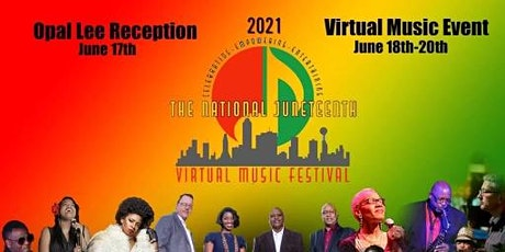 National Juneteenth Virtual Music Festival June 18-20, 2021| Fort Worth, TX tickets
