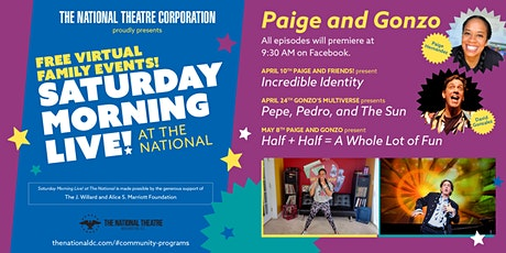 Saturday Morning Live! Presents Pepe, Pedro, and The Sun tickets