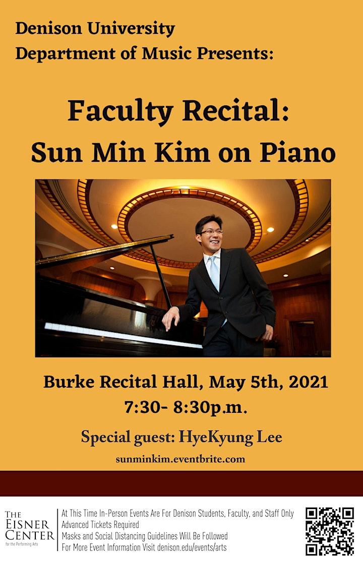 Sun Min Kim Piano Recital image
