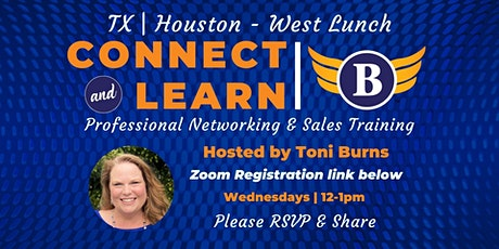 TX | Houston - West - Networking and Sales Training Luncheon tickets