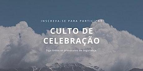 Culto de Celebração-18-04-21 ingressos