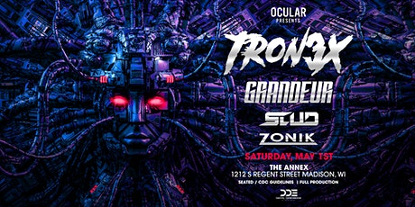 Tron3x, Grandeur + more [at] The Annex tickets