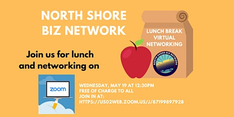 NSBN - Lunch Break Zoom Networking - May 19th tickets