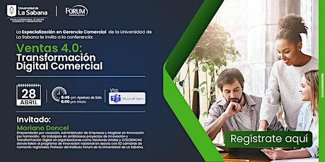 Ventas 4.0 Transformación Digital Comercial entradas