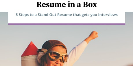 Resume in a Box: The Workshop tickets