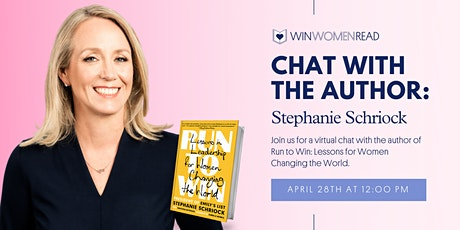 A Chat With The Author: Stephanie Schriock tickets