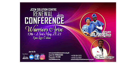 Renewal Conference 2021- Warriors Arise tickets