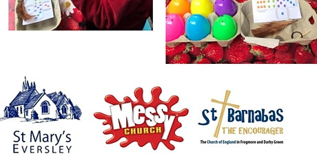 April Messy Church in a bag tickets