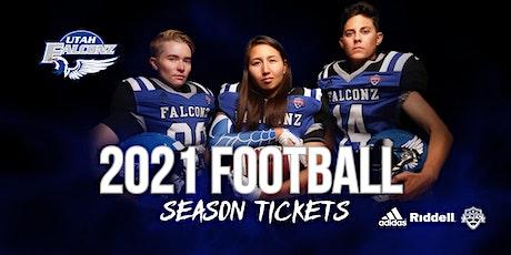Utah Falconz 2021 Season Tickets tickets