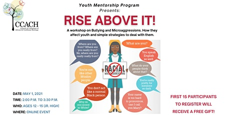 Rise Above It! A workshop on Bullying and Microagressions tickets