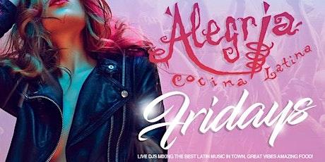 Alegria Latin Lounge in Long Beach # Reggaeton # Hip Hop # Latin Vybez tickets