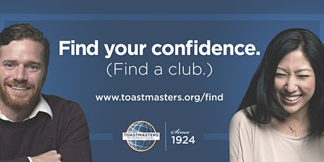 New Horizons Toastmasters - FUN Growth in Public Speaking & Leadership tickets