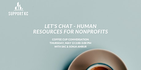 Human Resources for Nonprofits with SKC tickets