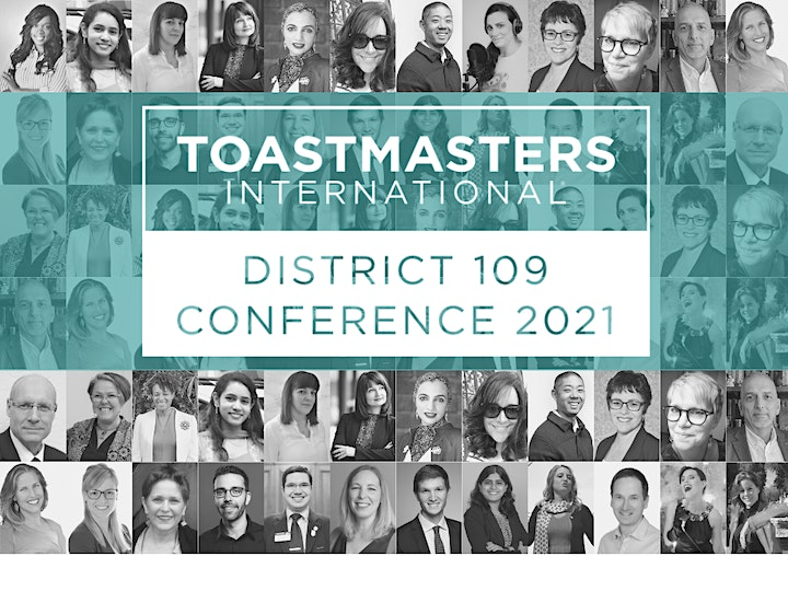 Public Speaking & Leadership Conference and Workshops - Toastmasters D109 image