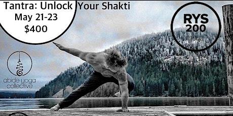 Tantra: Unlock your Shakti tickets