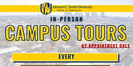 JCSU In-Person Campus Tours tickets