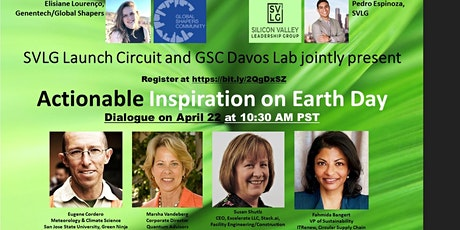 Earth Day: Actionable Inspiration with industry leaders tickets