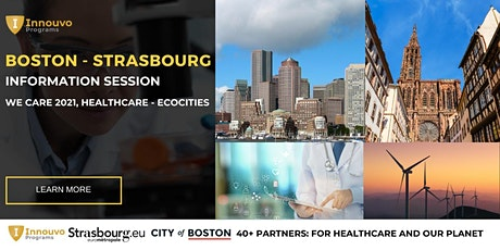 Strasbourg - Boston 2021: INFORMATION SESSION tickets