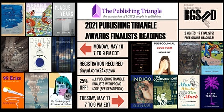 2021 Publishing Triangle Awards Finalists Reading tickets
