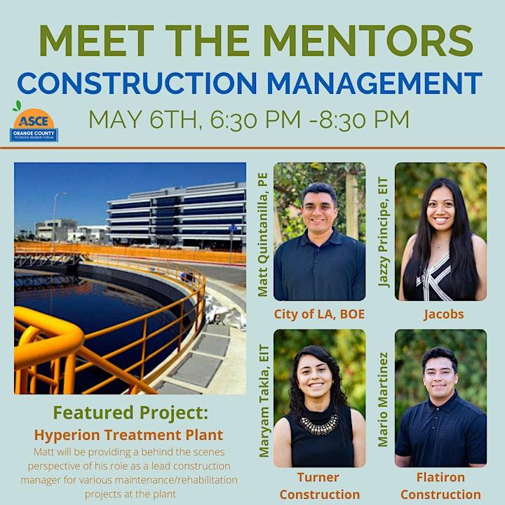 Meet the Mentors: Construction Management Panel image