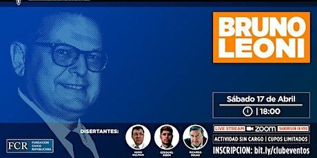 Homenaje a Bruno Leoni. Sábado 17  de abril, 2021, 18 horas. entradas