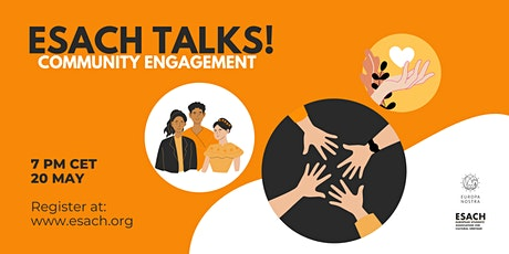 ESACH Talks! Community Engagement for Cultural Heritage tickets