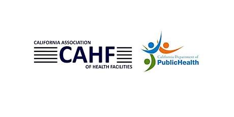Santa Clara CAHF / SAN JOSE CDPH - New SURVEY PROCESS tickets