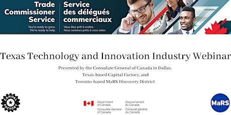 Texas Technology and Innovation Industry Webinar tickets