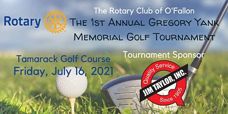 The 1st Annual Gregory Yank Memorial Golf Tournament tickets