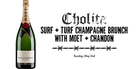Surf & Turf Champagne Brunch with Moet tickets