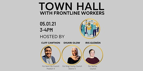 Town Hall with Workers On The Frontlines tickets