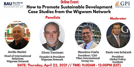 WEBINAR: How to Promote Sustainable Development tickets