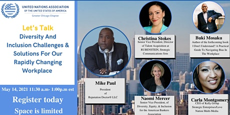 The Diversity and Inclusion Talk Panel with UNA Chicago tickets