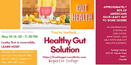 Your Healthy Gut Solution tickets