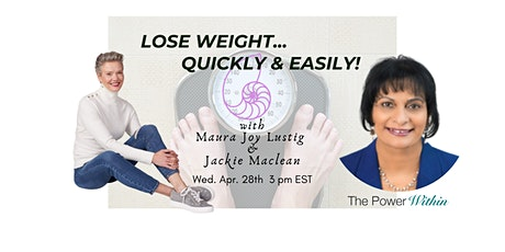 Peel Off The Pounds. Lose Weight Quickly and Easily With Hypnotherapy! tickets
