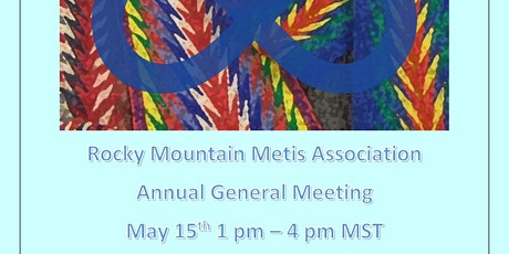 Rocky Mountain Metis Association AGM 2021 tickets