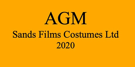 Sands Films AGM 2020 tickets