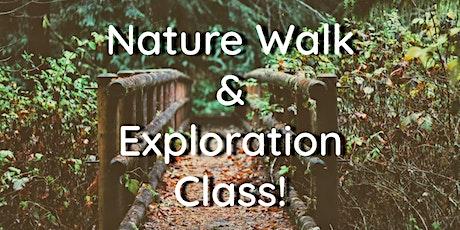 Nature Walk & Exploration tickets