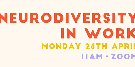 No Two Days: Working with Neurodiversity tickets