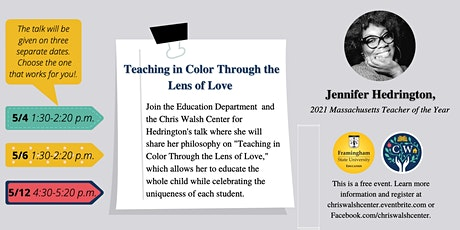 Teaching in Color Through the Lenses of Love tickets