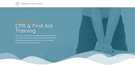 Pediatric First Aid with CPR/AED tickets