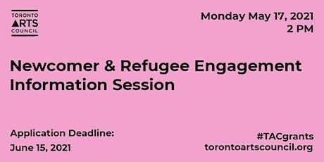 Newcomer & Refugee Artist Engagement Funding Program Information Session tickets
